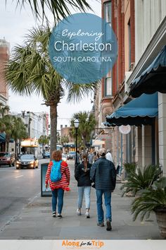 Charleston, SC is a great city for families to explore. We loved the charm of the city along with the food and long list of things to do and places to visit. Although Charleston is a city with a complicated history, it's coming into it's own as a destination that every traveler will enjoy. | #FamilyTravel #CharlestonSC # VisitCharleston