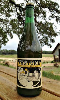 Cerveja Fantôme / Jester King Del Rey, estilo Saison / Farmhouse, produzida por Fantôme, Bélgica. 8% ABV de álcool.
