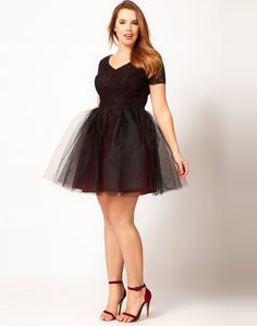 Plus Size Prom Dresses Black