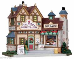Lemax-25386-Two-Sisters-Gourmet-Bakery-Weihnachtsdorf