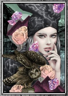 Nocturne by Ise Ananphada, via Behance