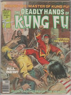 Deadly Hands of Kung Fu V1 38 VF.  February by RubbersuitStudios, $13.00