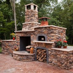 The FlameCraft Wood Fire Pizza Oven is just what you need to bring your outdoor . The FlameCraft Wood Fire Pizza Oven is just what you need to bring your outdoor living space to life! Whether upgrading . Outdoor Fireplace Patio, Outdoor Fireplace Designs, Outdoor Wood Projects, Pizza Oven Outdoor, Brick Oven Outdoor, Wood Fired Pizza, Outdoor Kitchen Design, Backyard Patio, Outdoor Living
