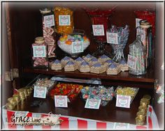 Uniquely Grace: Honeydukes Candy Display - Harry Potter Party Post #5