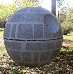 Make a pinata that looks like the Death Star for Star Wars Day (May the 4th) or for a Star Wars birthday party!