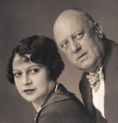 Aleister Crowley and Leila Waddell. Crowley also known as Frater… Aleister Crowley, Thing 1, Life Pictures, Witch Pictures, Famous Couples, Angels And Demons, Wiccan, Witchcraft, Before Us