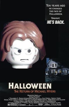 lego michael myers poster | Flickr - Photo Sharing!