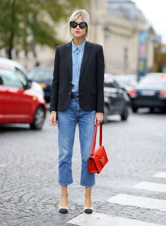 Mandatory Credit: Photo by Silvia Olsen/REX/Shutterstock (5226409af) Linda Tol Street Style, Spring Summer 2016, Paris Fashion Week, France - 06 Oct 2015