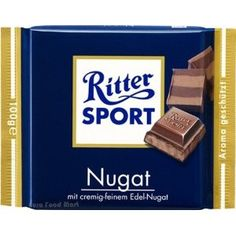 Ritter Sport Milk with Nougat Praline