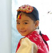 3 Rose Korean hanbok hairband - Daenggi    Hanbok dress Korean traditional clothes   girl wedding party dress    Click this picture, go to ebay page.