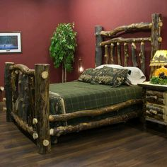 Log bed - I want!!!
