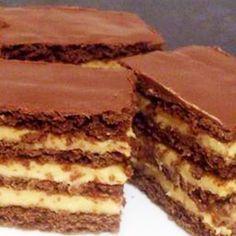Hungarian Desserts, Hungarian Recipes, Cookie Desserts, Cookie Recipes, Dessert Recipes, Salty Snacks, Winter Food, No Bake Cake, Sweet Recipes