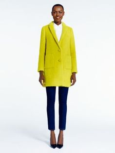 KATE SPADE~2014 madison ave. collection octavia coat