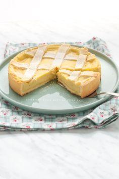Ricetta crostata alla crema pasticcera