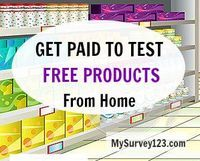 How to Get Paid To Test Products at Home for free: http://mysurvey123.com/get-paid-to-test-products-at-home/   - Become a product tester and make extra money!
