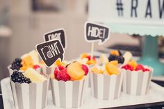 Fruit Cups from a Mo