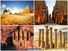 9-Day Private Tour of Egypt and Jordan Jordan Tours, Cairo Pyramids, Moon Hotel, Luxor Temple, Valley Of The Kings, Domestic Flights, Travel Dating, Round Trip, First Nations