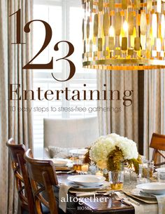 This new party guide helps holiday hosts make the most of their preparation time with clever ideas for the 'before, during, and after' of any seasonal soirée. Easy Entertaining, Article Design, Stress Free, Book Worms, Creative, Holiday, Party, Clever, Decorating