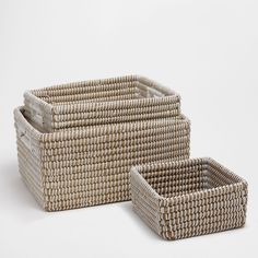 Image 1 of the product Natural fibre basket 15 x 12 x 8