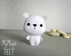 This item is Made to Order (4-6 weeks for making) Little hamster made of felt will be happy to embellish your home or a childs room, or will be a wonderful gift. ● Dimensions - 4 inch height/ 10 cm ● Made of high quality eco-friendly polyester felt ● Delicately filled with polyester fiber filler ● 100% handmade (hand-cut and hand-sewing) ❄❄❄ Please note ❄❄❄ ● Colors may vary slightly from those shown on the monitor ● This item is 100% handmade and made to order, it will be the most simila...