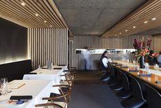 Restaurante japonês Cocoro, por Gascoigne Associates (Arquitetura), em Auckland (Nova Zelândia).  Japonese restaurant Cocoro in Auckland (New Zeland), by Gascoigne Associates (Architecture).
