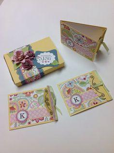 Paper Escape Chantilly cards