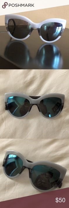 Marc by Marc Jacobs Sunglasses Great condition two tone cat eye oversize sunglasses. Marc By Marc Jacobs Accessories Sunglasses