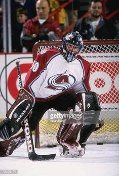 Marc Denis (1996-2000) Colorado Avalanche, Nhl, Hockey, Classic, Sport, Derby, Deporte, Field Hockey, Sports