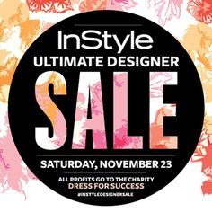 InStyle's Ultimate Designer Sale