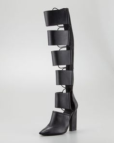 Celebrities who wear, use, or own Alexander Wang Marta Runway Cutout Knee Boot. Also discover the movies, TV shows, and events associated with Alexander Wang Marta Runway Cutout Knee Boot. Just Fab Shoes, Me Too Shoes, Jimmy Choo, Knee Boots, Bootie Boots, Prada, Shop The Runway, Christian Louboutin, Gladiator Boots