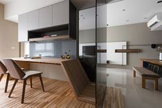 Japanese living in Taiwan by HOZO interior design 05