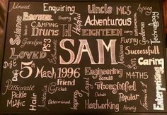 Sam's 18th Birthday Present