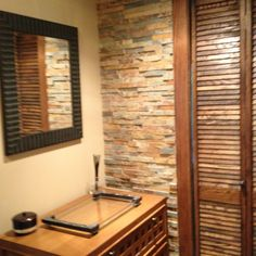Bathrooms hey have this wall in Greenville  remodel