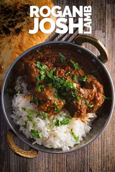 Lamb Rogan Josh is an all time favourite dish of mine an Indian curry of Persian origin that has become much more well know as a Kashmiri dish. This packs a punch of chili ENJOY Lamb Recipes, Spicy Recipes, Indian Food Recipes, Asian Recipes, Dinner Recipes, Cooking Recipes, Dessert Recipes, Turkish Recipes, Gourmet