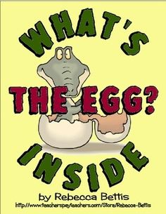 Weekly Freebie: FREE Writing Resource  - What's Inside The Egg? Fun Easter or Life Cycles Writing FREEBIE