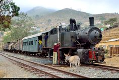 RailPictures.Net Photo: 442 54 Eritrean Railways Steam 0-4-4-0T Mallet at Embatkala, Eritrea by Daniel SIMON