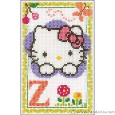 Hello kitty lettre z