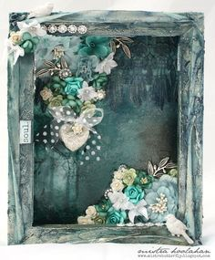A blog showcasing my scrapbooking, mixed media projects and more.