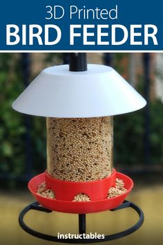 Build a collection of bird feeders from an old wine bottle and 3D printed parts. #Fusion360 #outdoors #3Dprint #backyard #parametric Bottle Cutter, Glass Cutter, Fusion 360, Acrylic Tube, Under The Shadow, Change Is Good, Plastic Bottles, Bird Feeders, Home Crafts