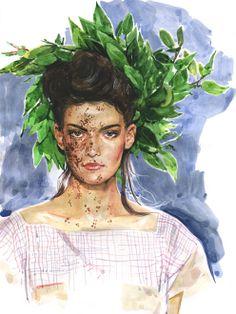 Marcel GORGE fashion illustration - Sök på Google