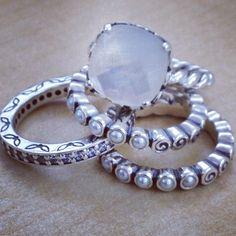 Pandora rings LOVE!!!!!