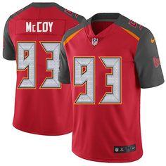 596a675cfb5 Nike Buccaneers #93 Gerald McCoy Red Team Color Men's Stitched NFL Vapor  Untouchable Limited Jersey