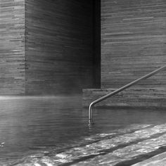 Baths at Vals - Therme Vals by architect Peter Zumthor (photograph by Hélène Binet)