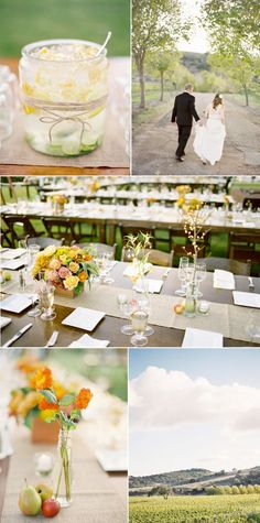 Santa Ynez Wedding by Jose Villa + Jill La Fleur + Joel Serrato, Part I - Style Me Pretty
