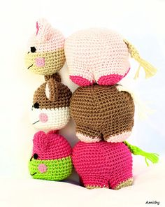 Amigurumi is easy and fun! Sometimes you just need a quick crochet win :)