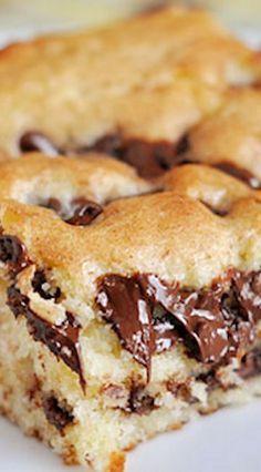 Chocolate Chip Cake