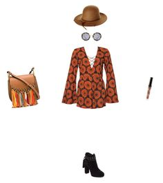 """Coachella xx"" by darcyneale ❤ liked on Polyvore featuring Brixton, Miu Miu, Jessica Simpson and Chloé"