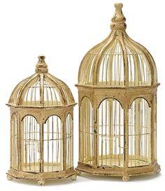 Gazebo Decorative Birdcage - Wedding Table Centerpiece