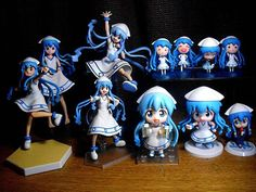 My ika musume shrine as of now.  #figure #toys #collection #anime #ikamusume #squidgirl #nendoroid #figma by nightofthelivingjed http://ift.tt/1Qlkgch