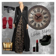 London Nights by lisadavispt on Polyvore featuring Temperley London and Rimmel
